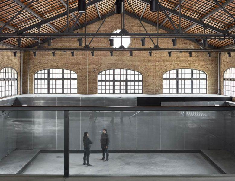 arquitectura nave 3 parque central contell-martinez foto espacio polivalente