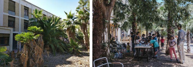 Convet Carmen - Jardín interior