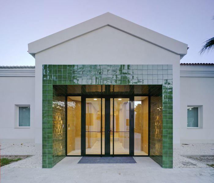 arquitectura  cor asociados arquitectos foto aaceso principal museo