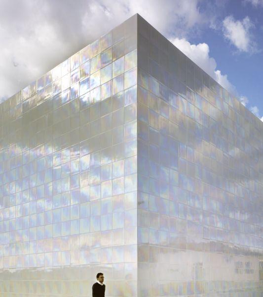 arquitectura cor asociados arquitectos foto iridescent tile muca