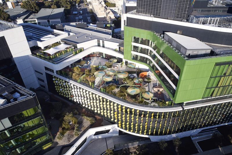 arquitectura_y_empresa_cox architecture_perthchildrens hospital_cubierta