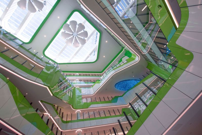 arquitectura_y_empresa_cox architecture_perthchildrens hospital_espacio central