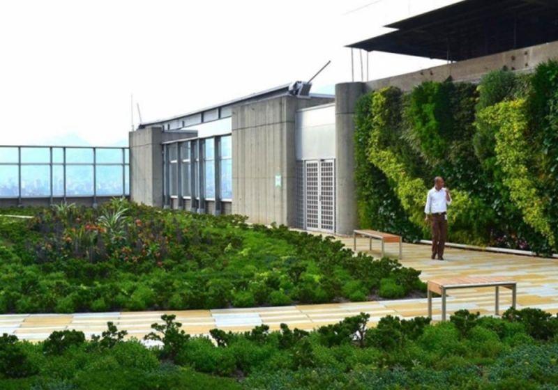 Cubierta Edificio Inteligente de las Empresas Públicas de Medellín