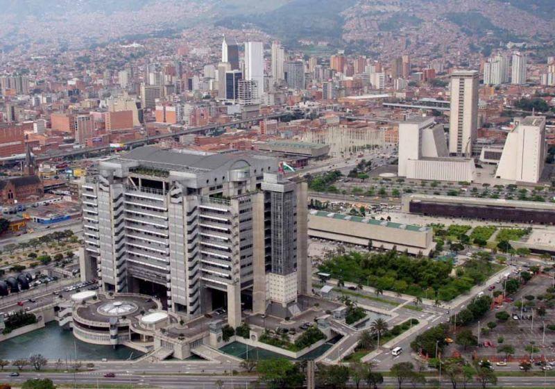 Entorno del Edificio Inteligente de las Empresas Públicas de Medellín