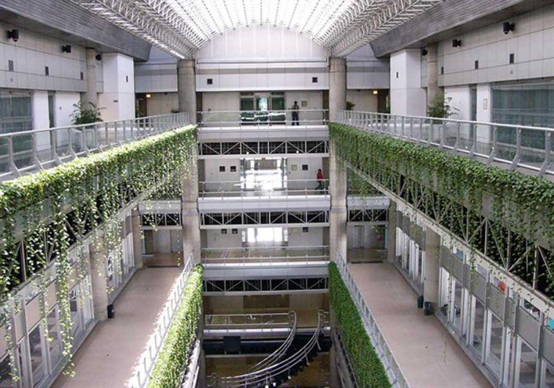 Vista interna Edificio Inteligente de las Empresas Públicas de Medellín