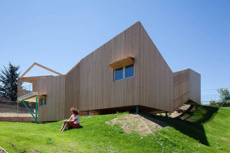 arquitectura house of Would de ELII