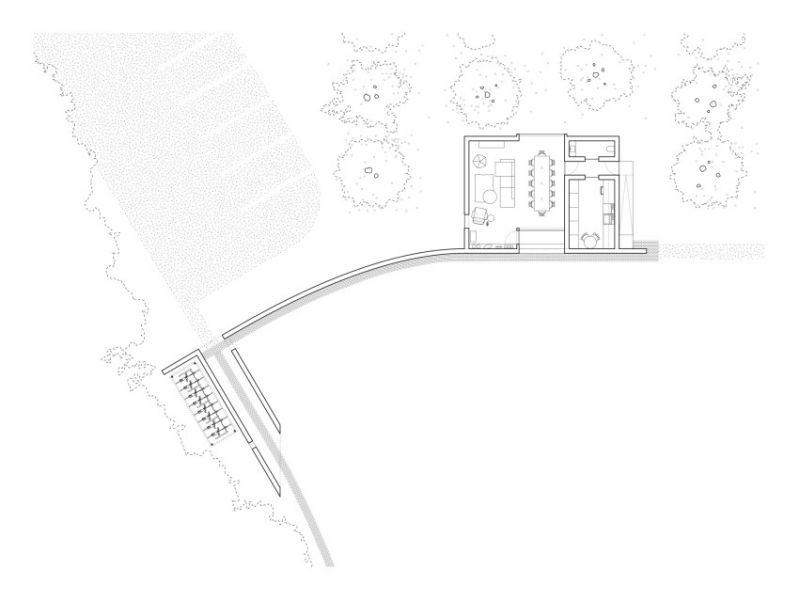 arquitectura_y_empresa_Elsewhere Hudson Valley_pabellón acceso