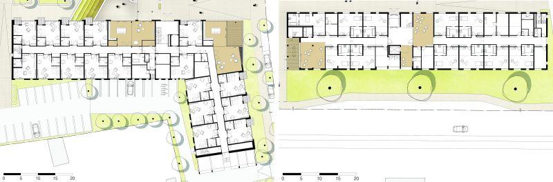 Complejo Eltheto - Plantas apartamentos