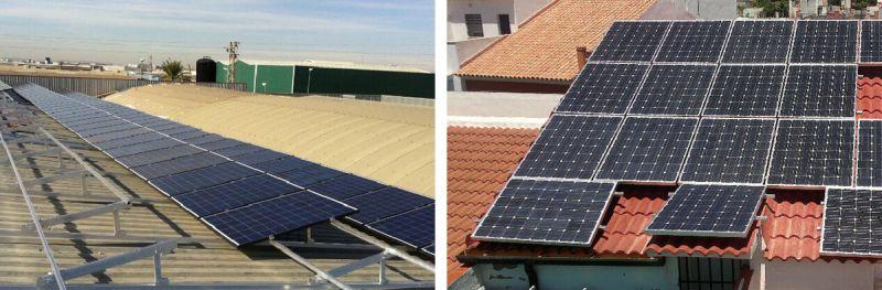 ARQUITECTURA energés panel fotovoltaico ejemplos cubiertas