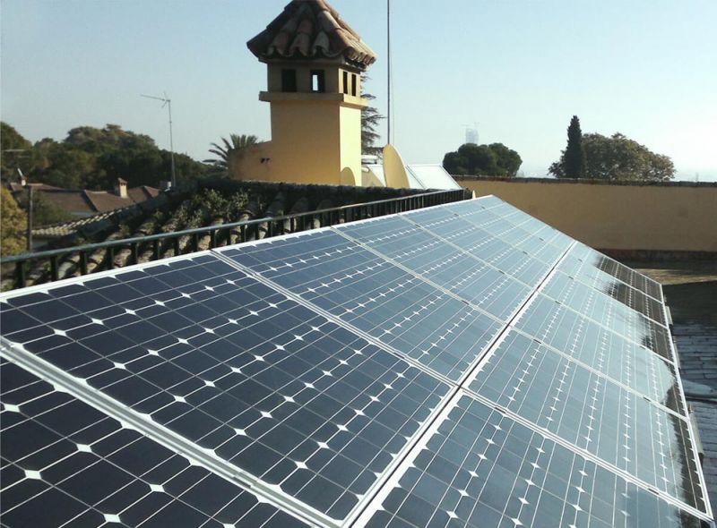 ARQUITECTURA energés panel fotovoltaico