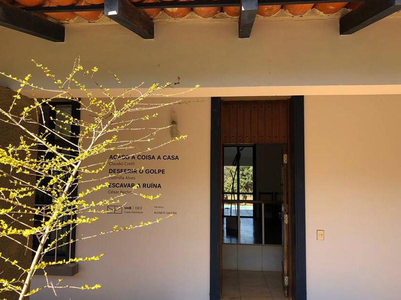 casa Niemeyer_ Acceso a la Casa.