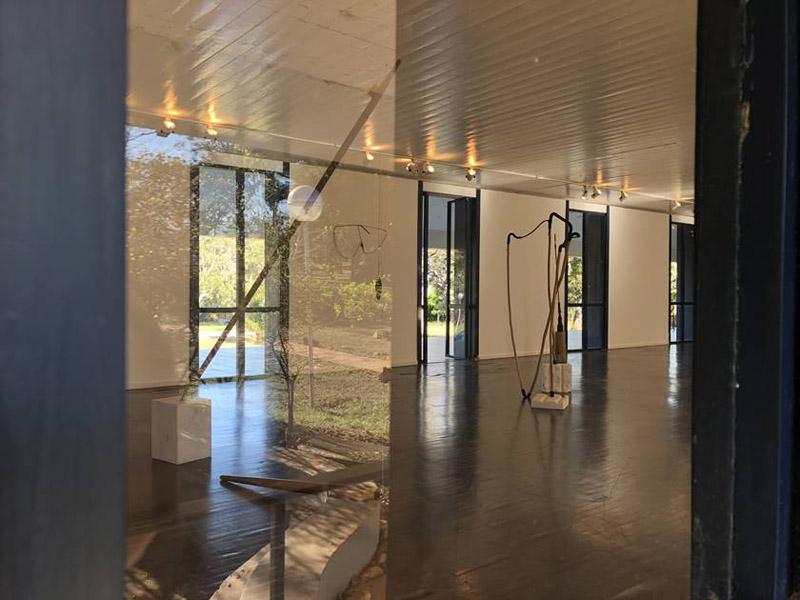 casa Niemeyer_ imagenes de los ventanales desde el interior