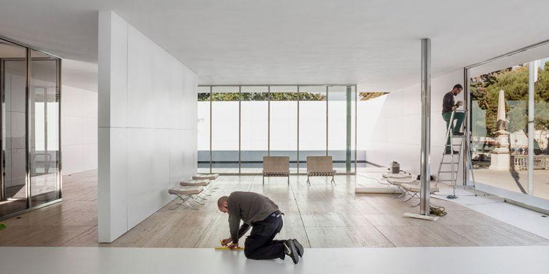 arquitectura anna & eugeni bach Mies missing materiality premios fad 2019 fotografía adria goula pabellon barcelona