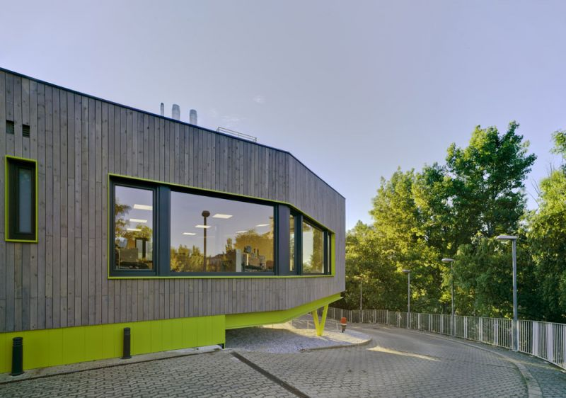 arquitectura de maternidades Hospital de Día Oncológico de Aranda de Duero fotografia exterior