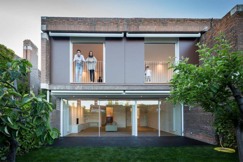 estudio andrada arquitectos vivienda unifamiliar en aravaca fachada exterior