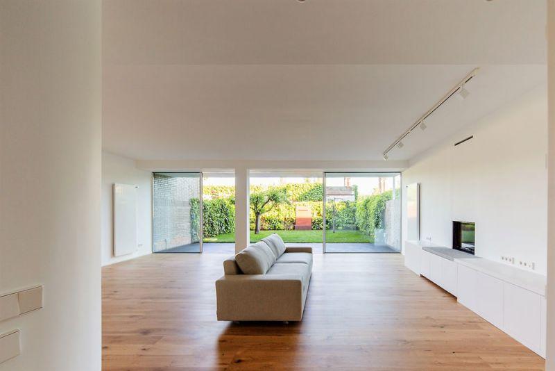 estudio andrada arquitectos vivienda unifamiliar en aravaca salon estar patio