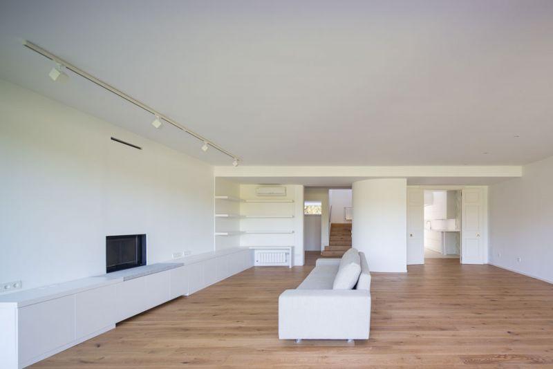 estudio andrada arquitectos vivienda unifamiliar en aravaca salon conexion con distribuidor