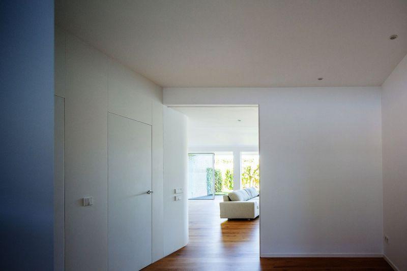 estudio andrada arquitectos vivienda unifamiliar en aravaca vestibulo