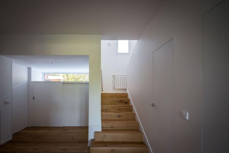 estudio andrada arquitectos vivienda unifamiliar en aravaca escaleras