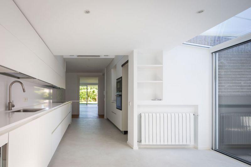estudio andrada arquitectos vivienda unifamiliar en aravaca cocina