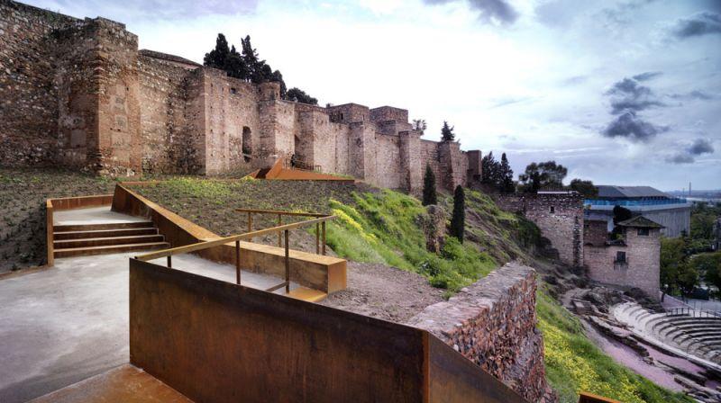 arquitectura oam arquitectos Rehabilitación de la Ladera de la Alcazaba y Teatro Romano