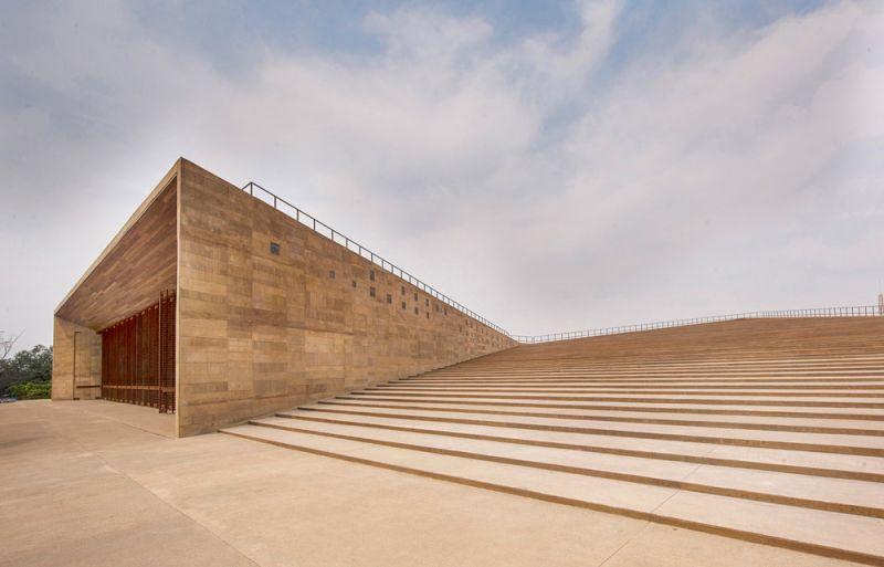 Escalinatas de auditorio abierto