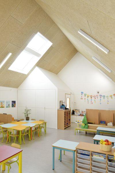 arquitectura_y_empresa_escuela materna_aulas lucernario