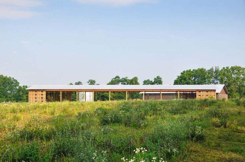 arquitectura vista del granero B granja Mason Lane