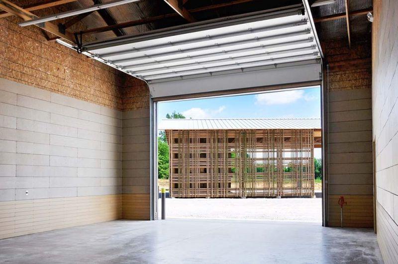 arquitectura portón de acceso granero A granja Mason Lane