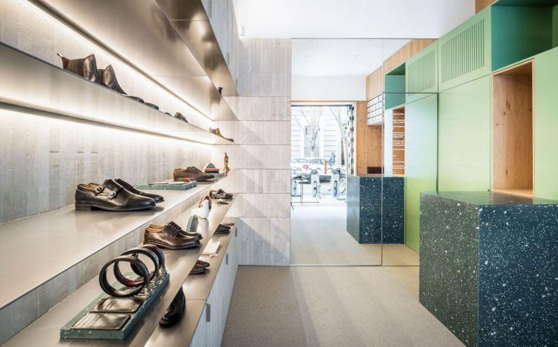 arquitectura estudio diir tienda diplomatic espejo