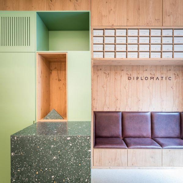 arquitectura diplomatic tienda estudio diir