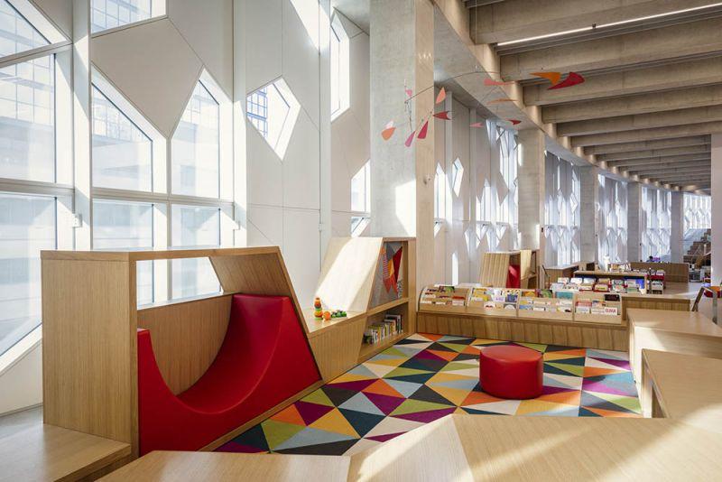 arquitectura biblioteca para niños biblioteca Calgary