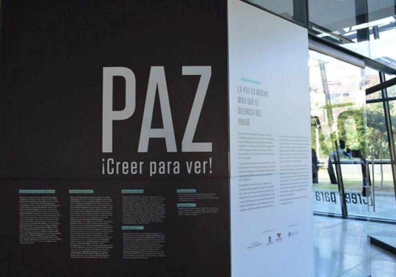 Exposición Paz Creer para Ver del Museo Casa de la Memoria