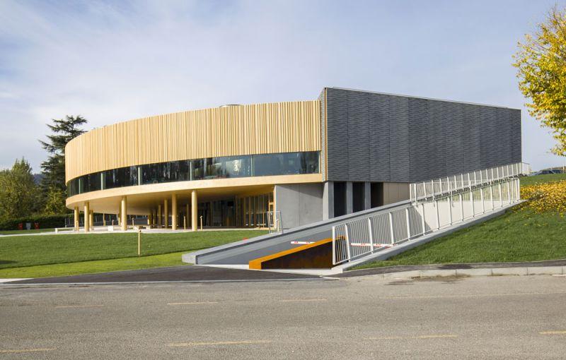 Dallara Academy situada en Varano de' Melegari, Italia