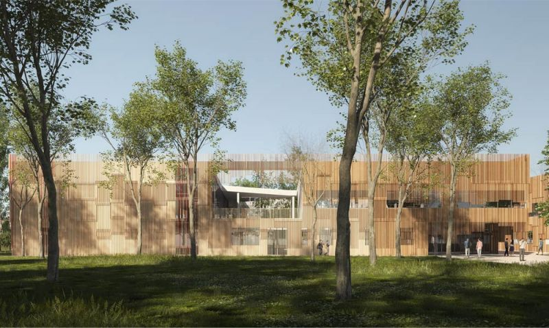 Escuela de Legnago situada en Legnago, Italia