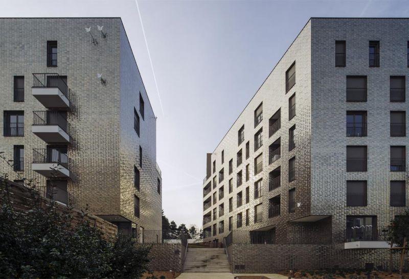 Urbangreen Housing situado en Ile-de-France, Francia
