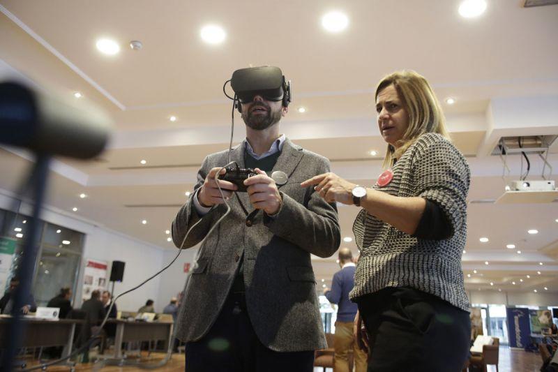 arquitectura y empresa foro contract madrid 3d virtual glasses