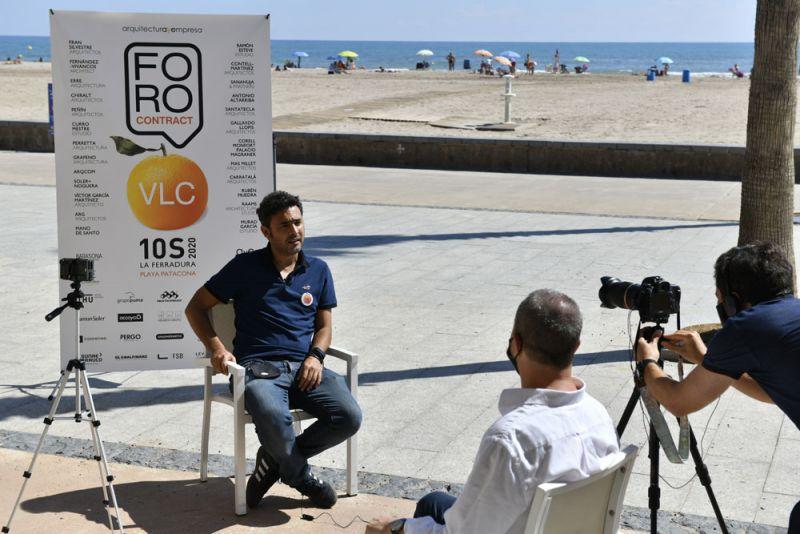 FORO Contract Valencia Arquitectura y Empresa La Ferradura mano de santo paco miravete