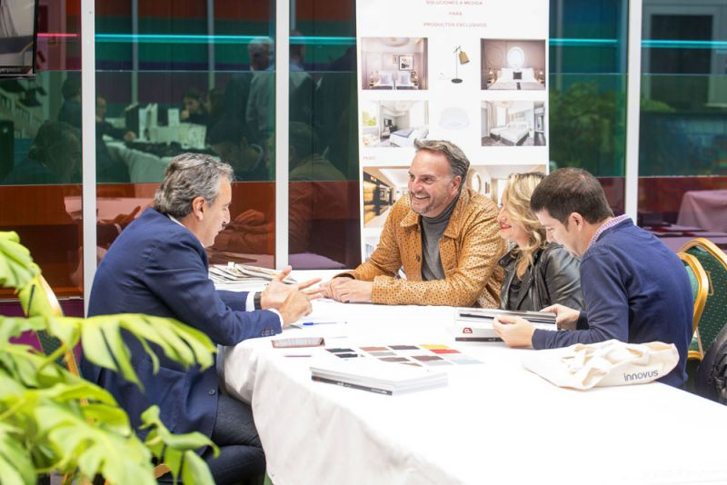 arquitectura y empresa FORO Contract Vitoria Gasteiz Hotel Zenit Jardines de Uleta evento