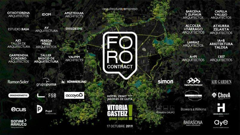 arquitectura foro contract vitoria gasteiz cartel evento