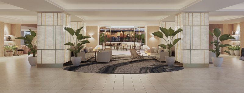 Fraile Project - Lobby Hotel Islantilla Double Tree by Hilton (Proyecto de Fraile Project)