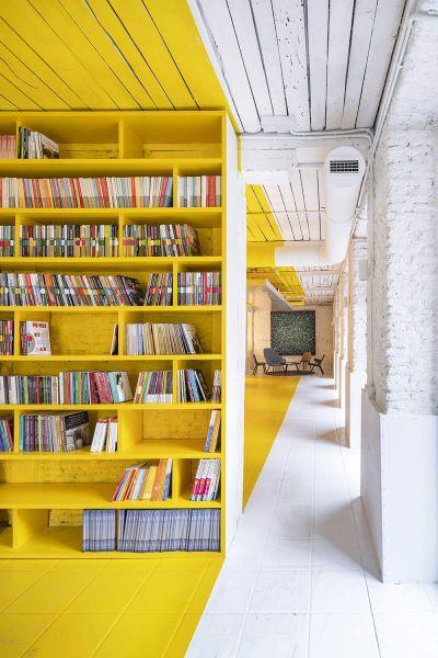 arquitectura FRPO Rodriguez & Oriol Espacio Encuentro fotografia interior librerias