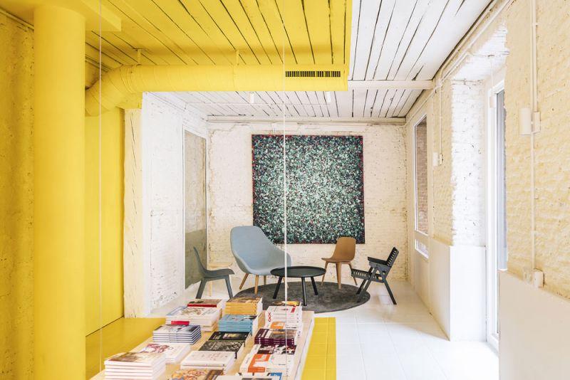 arquitectura FRPO Rodriguez & Oriol Espacio Encuentro fotografia interior zona lectura