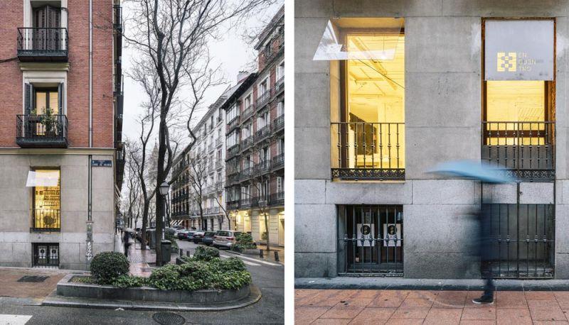 arquitectura FRPO Rodriguez & Oriol Espacio Encuentro fotografia exterior detalle fachada