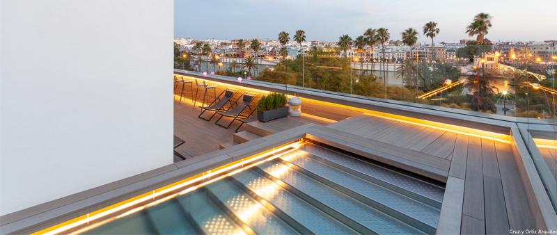 Arquitectura y Empresa, FSB, Cruz y Ortiz Arquitectos, Sevilla, manillas, herrajes, hotel, hostelería, hotel boutique, Hotel Kivir, rehabilitación, proyecto, colaboración
