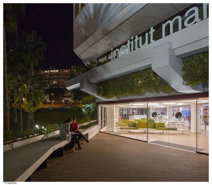 arquitectura PMMT Arquitectura Manillas de autor FSB Instituto Marqués fotografia exterior hospital