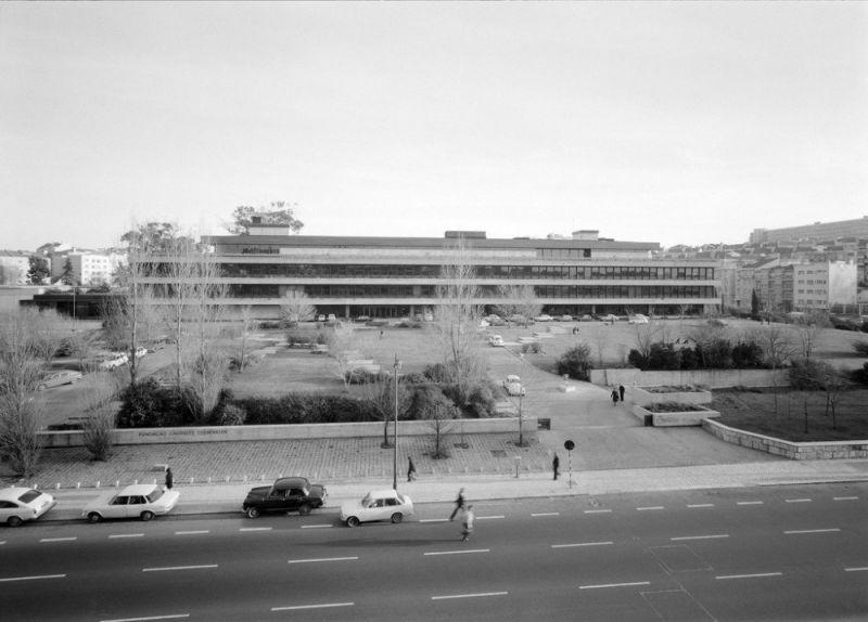Fundación Calouste Gulbenkian foto de archivo