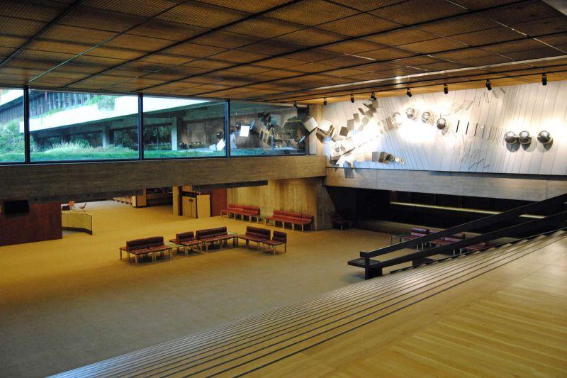 Relación interior exterior Fundación Calouste Gulbenkian