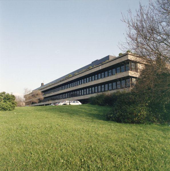 Vista exterior de la Fundación Calouste Gulbenkian