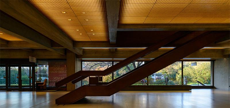 Interior de la Sede Fundación Calouste Gulbenkian